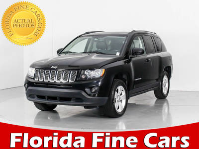 Used JEEP COMPASS 2014 MIAMI LATITUDE