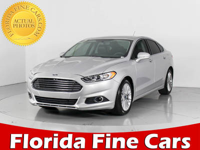 Used FORD FUSION 2015 WEST PALM SE