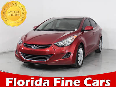 Used HYUNDAI ELANTRA 2012 HOLLYWOOD Gls