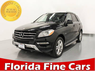 Used MERCEDES-BENZ M-CLASS 2012 MARGATE ML350 4MATIC