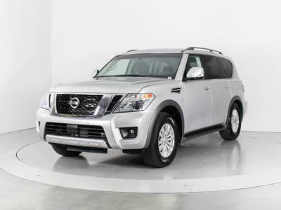 Used NISSAN ARMADA 2017 WEST PALM Sv
