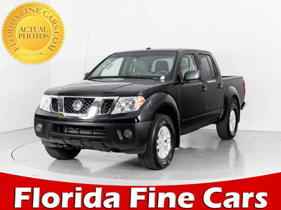Used NISSAN FRONTIER 2017 WEST PALM Sv 4x4