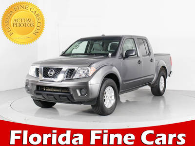 Used NISSAN FRONTIER 2018 WEST PALM Sv V6