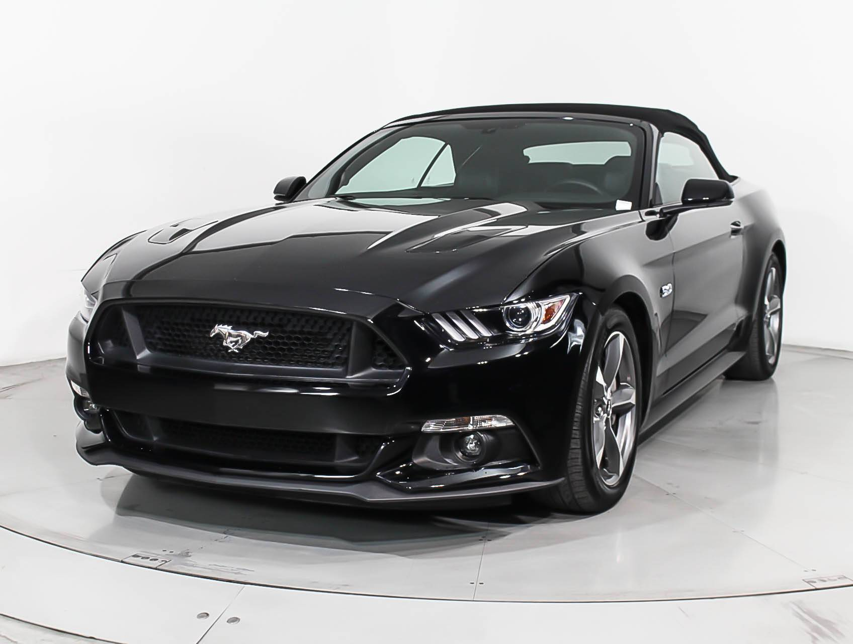 Used 2017 ford mustang gt premium convertible for sale in miami fl