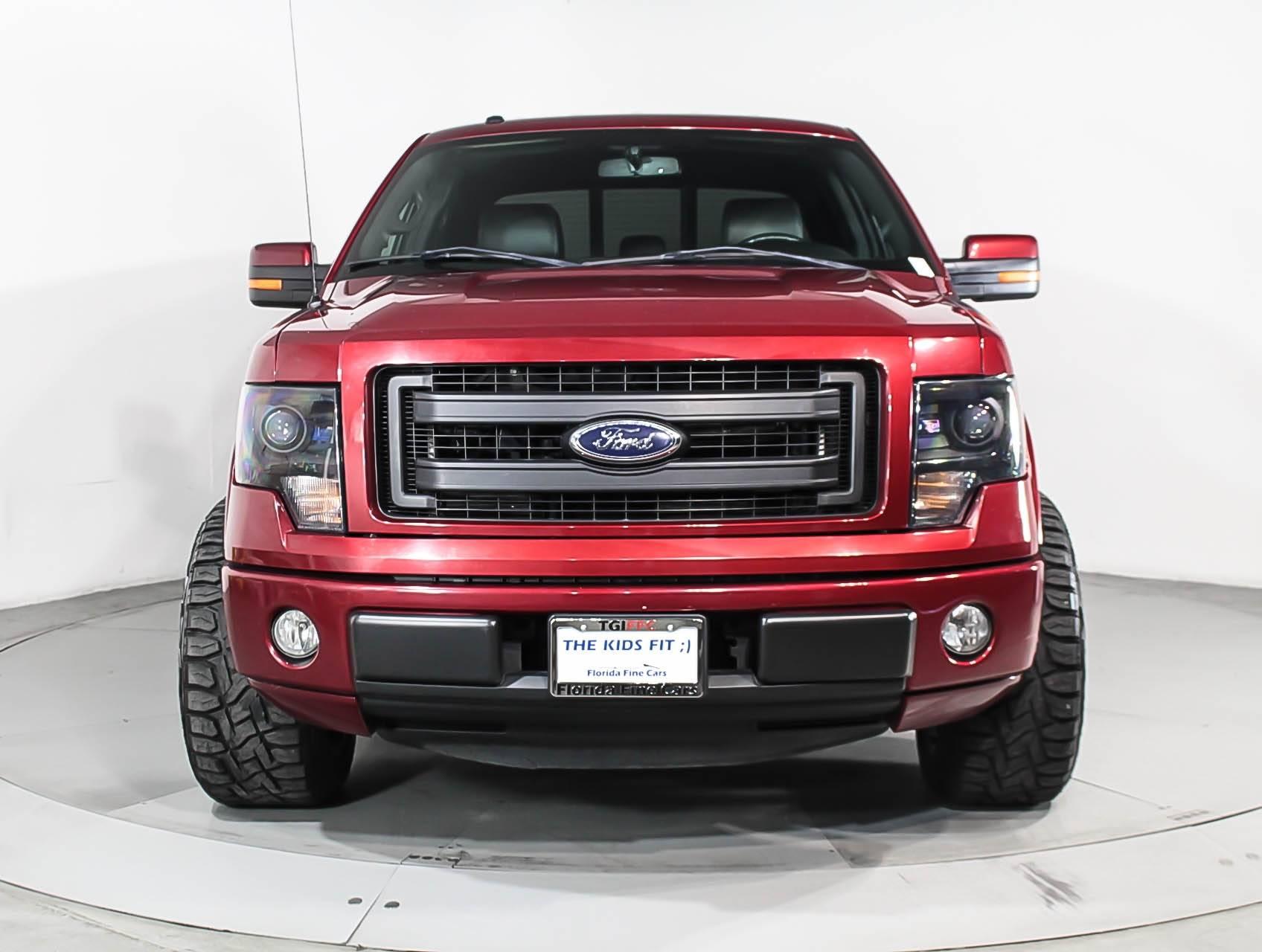 used 2014 ford f 150 fx2 truck for sale in miami fl 97654 florida fine cars. Black Bedroom Furniture Sets. Home Design Ideas