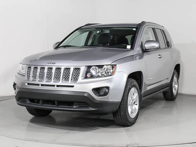 Used JEEP COMPASS 2017 HOLLYWOOD LATITUDE