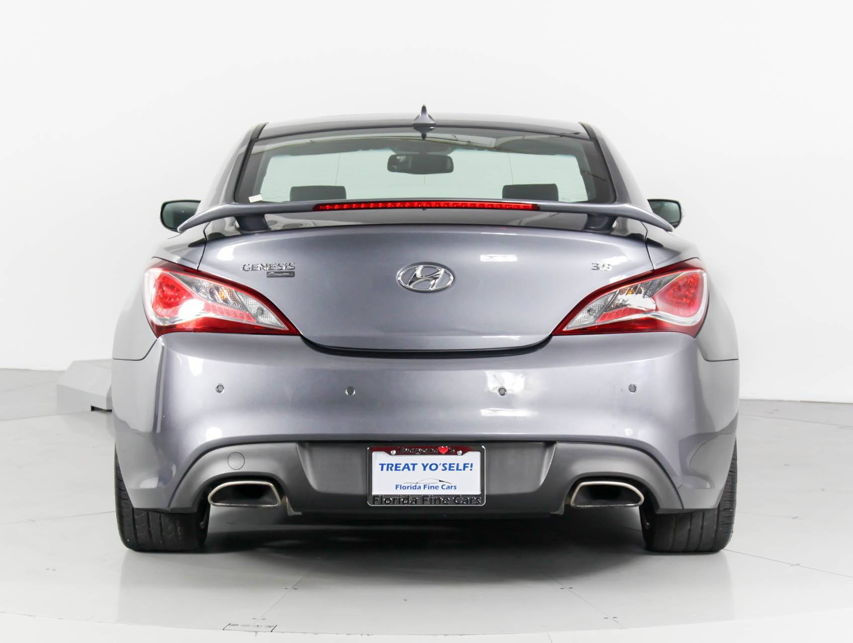 used 2015 hyundai genesis coupe 3 8 ultimate coupe for sale in miami fl 97674 florida fine cars. Black Bedroom Furniture Sets. Home Design Ideas