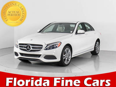 Used MERCEDES-BENZ C-CLASS 2015 WEST PALM C300 4MATIC