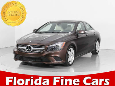 Used MERCEDES-BENZ CLA-CLASS 2016 WEST PALM CLA250 4MATIC