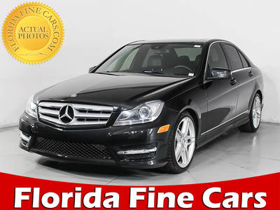 Used MERCEDES-BENZ C-CLASS 2013 HOLLYWOOD C300 4MATIC