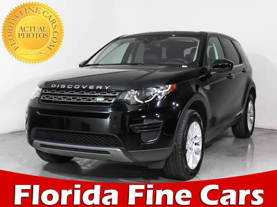 Used LAND-ROVER DISCOVERY-SPORT 2018 MIAMI SE