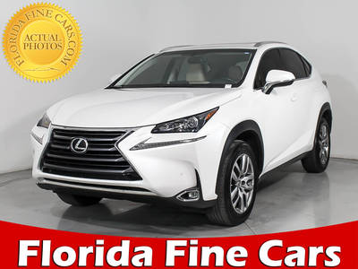 Used LEXUS NX-200T 2015 HOLLYWOOD
