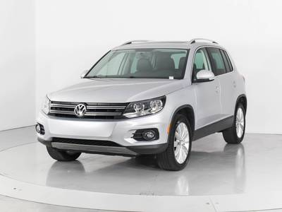 Used VOLKSWAGEN TIGUAN 2015 WEST PALM Sel