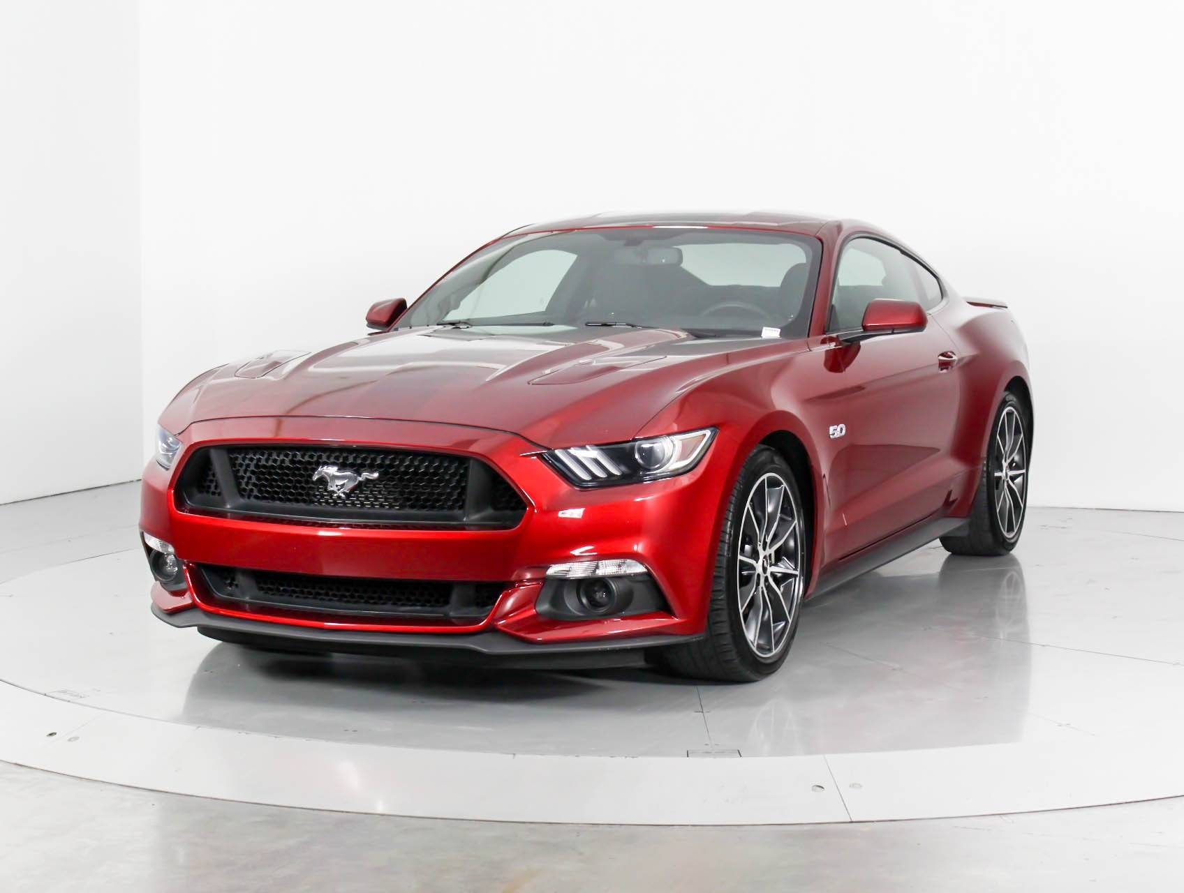 Used 2016 Ford Mustang Gt Coupe For In Miami Fl 97795 Florida Fine Cars