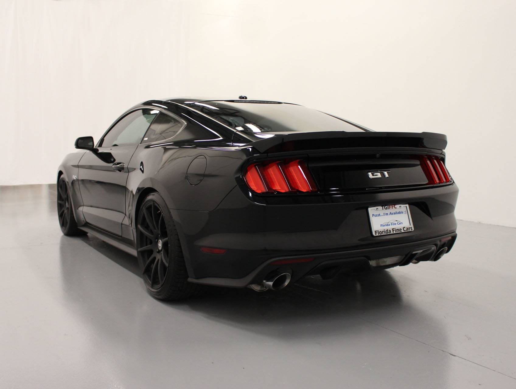 Used 2015 ford mustang gt premium coupe for sale in margate fl