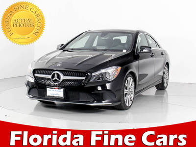 Used MERCEDES-BENZ CLA-CLASS 2018 WEST PALM CLA250 4MATIC