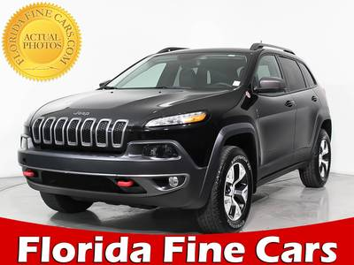 Used JEEP CHEROKEE 2015 HOLLYWOOD Trailhawk 4x4