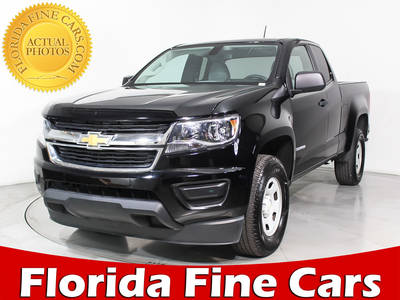 Used CHEVROLET COLORADO 2017 MIAMI WORK TRUCK