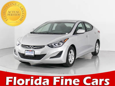 Used HYUNDAI ELANTRA 2014 WEST PALM Se