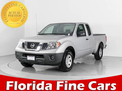 Used NISSAN FRONTIER 2017 WEST PALM King Cab S
