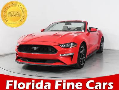 Used FORD MUSTANG 2018 MIAMI Ecoboost Premium