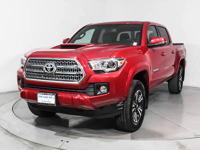 Used TOYOTA TACOMA 2017 WEST PALM Trd Sport 4wd