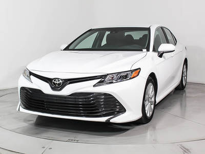 Used TOYOTA CAMRY 2018 HOLLYWOOD Le