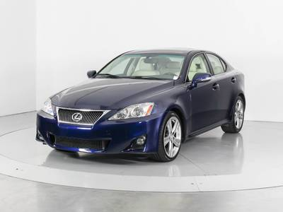 Used LEXUS IS-250 2012 WEST PALM