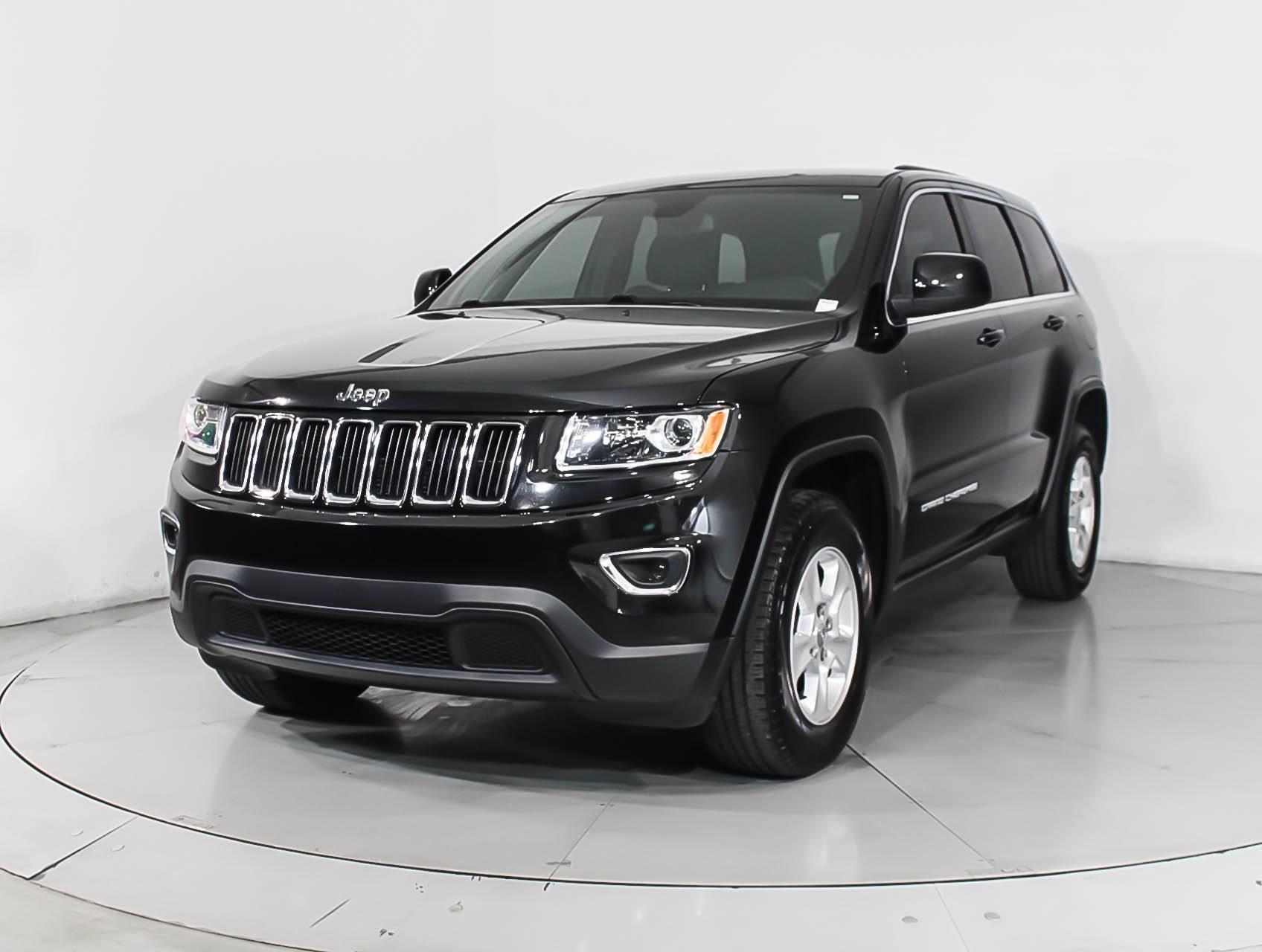 Used 2016 Jeep Grand Cherokee Laredo 4x4 Suv For Sale In Miami Fl 98251 Florida Fine Cars