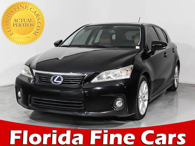 Used LEXUS CT-200H 2012 MIAMI Premium