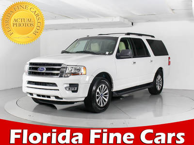 Used FORD EXPEDITION-EL 2017 WEST PALM Xlt