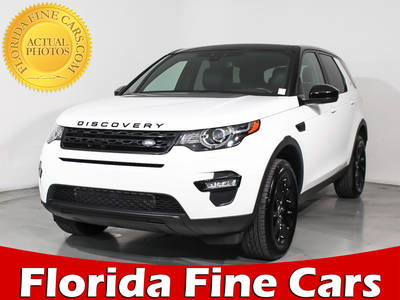 Used LAND-ROVER DISCOVERY-SPORT 2016 HOLLYWOOD HSE