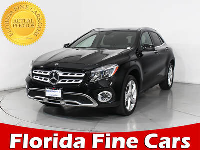 Used MERCEDES-BENZ GLA-CLASS 2018 HOLLYWOOD GLA250 4MATIC