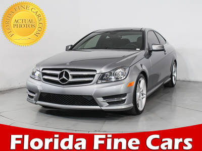 Used MERCEDES-BENZ C-CLASS 2013 HOLLYWOOD C350