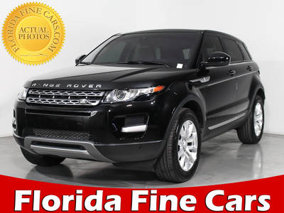 Used LAND-ROVER RANGE-ROVER-EVOQUE 2014 MIAMI PURE