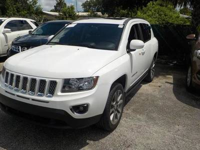 Used JEEP COMPASS 2016 MIAMI LATITUDE