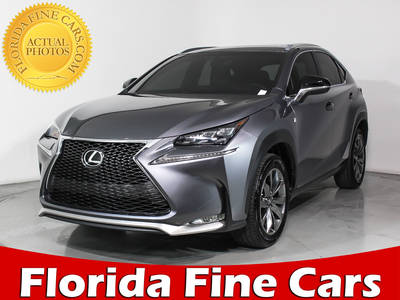 Used LEXUS NX-200T 2015 HOLLYWOOD F Sport