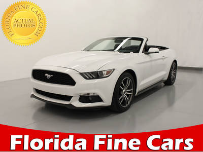 Used FORD MUSTANG 2017 WEST PALM Ecoboost Premium