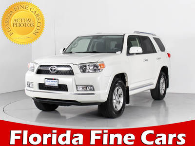 Used TOYOTA 4RUNNER 2013 WEST PALM Sr5 4x4