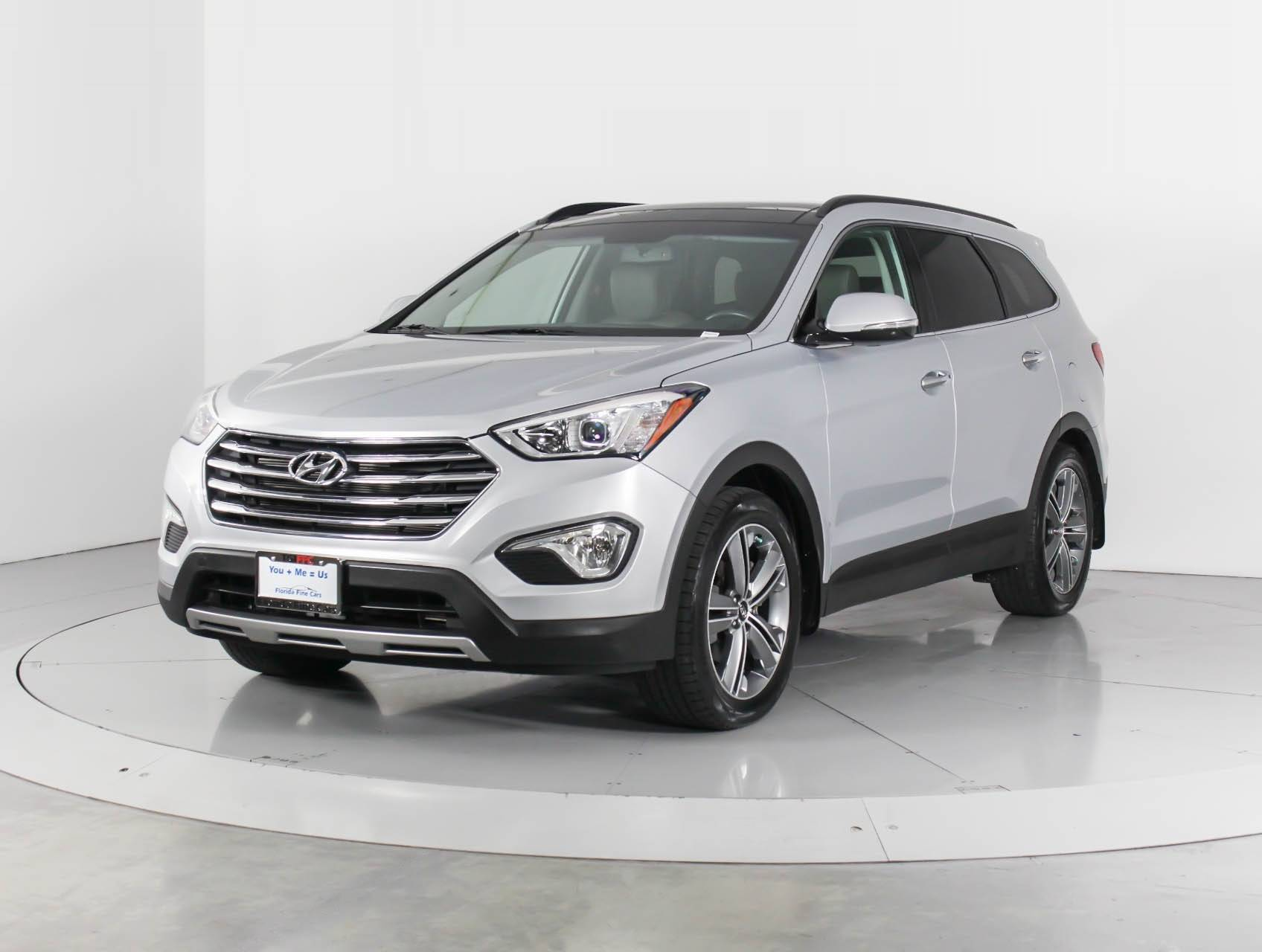 Used 2015 Hyundai Santa Fe Limited Ultimate Suv For Sale In
