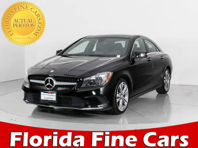 Used MERCEDES-BENZ CLA-CLASS 2018 WEST PALM CLA250