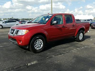 Used NISSAN FRONTIER 2017 HOLLYWOOD Sv