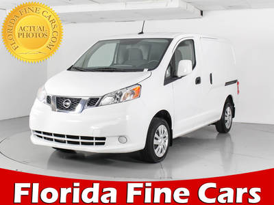 Used NISSAN NV200 2017 WEST PALM Sv