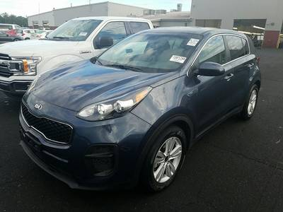 Used KIA SPORTAGE 2017 WEST PALM LX