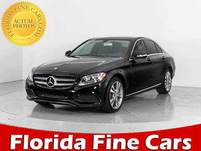 Used MERCEDES-BENZ C-CLASS 2015 HOLLYWOOD C300