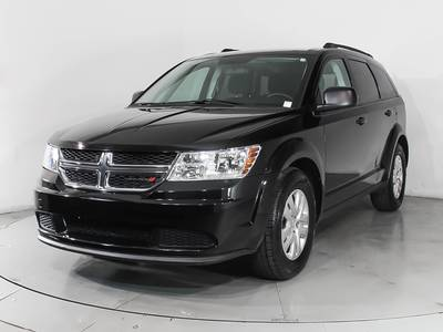 Used DODGE JOURNEY 2018 HOLLYWOOD SE