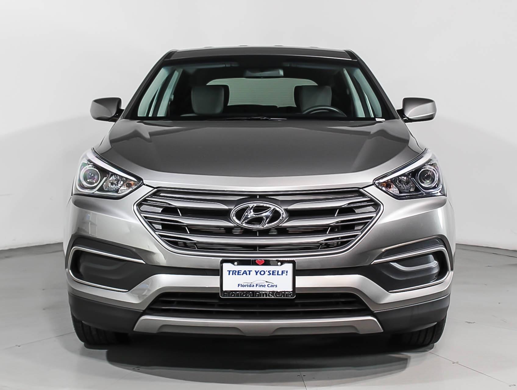 Used 2018 Hyundai Santa Fe Sport Suv For Sale In Miami Fl 98415 Black Compare