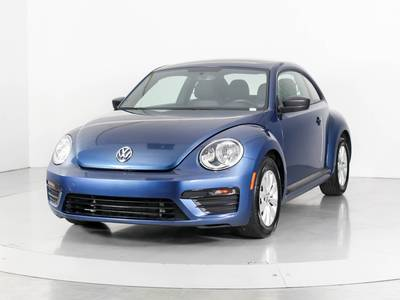 Used VOLKSWAGEN BEETLE 2018 WEST PALM COAST