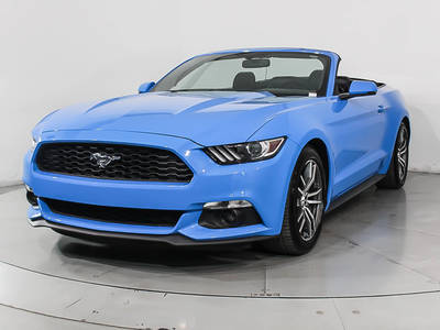 Used FORD MUSTANG 2017 MIAMI Ecoboost Premium