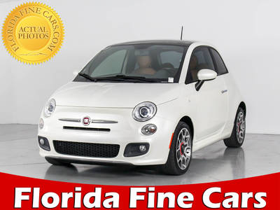 Used FIAT 500 2012 WEST PALM SPORT